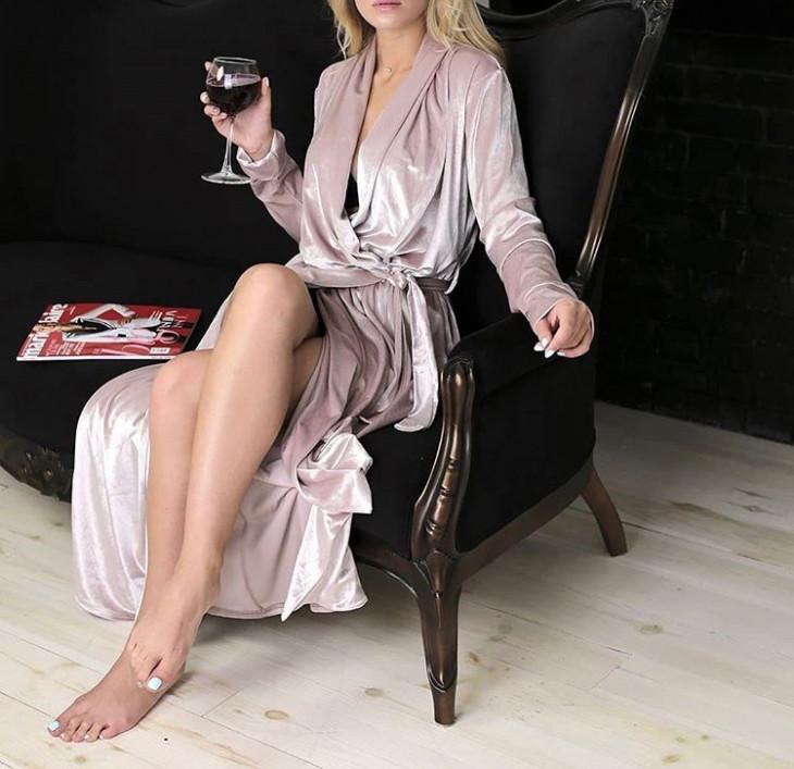 Женский халат от Lavender Dreams