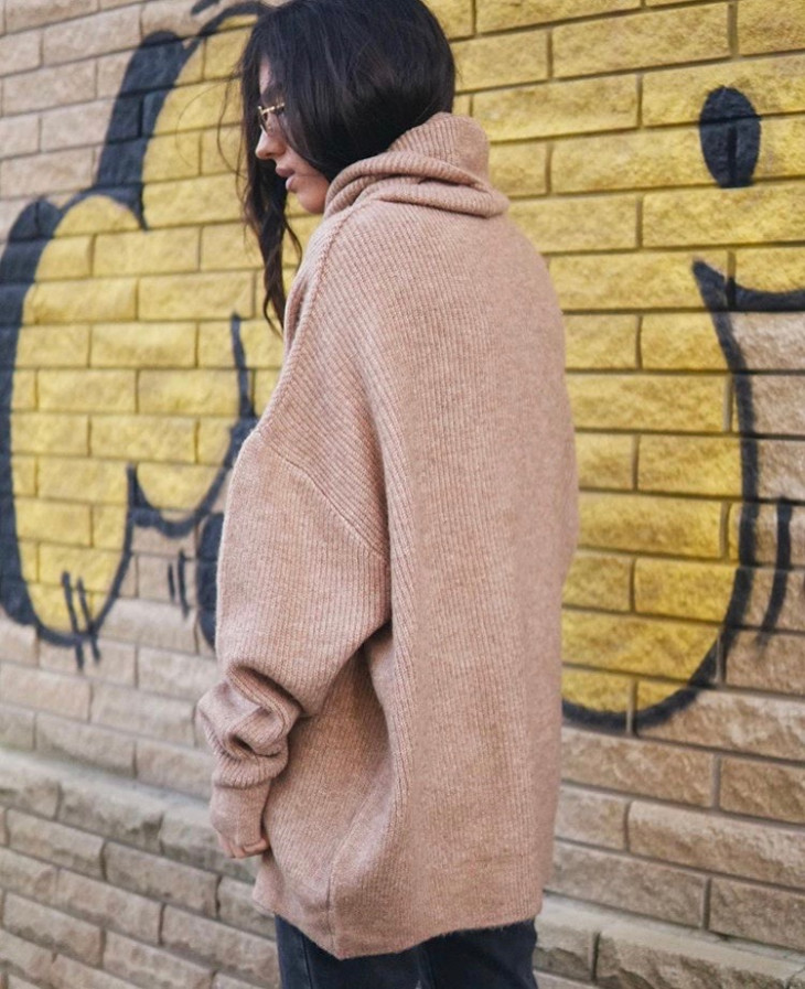 Длинный свитер German Apparel