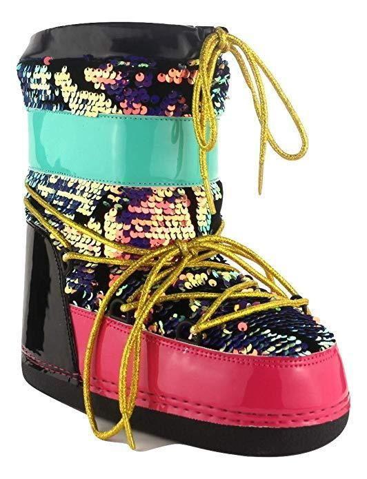 Модные лунные ботинки