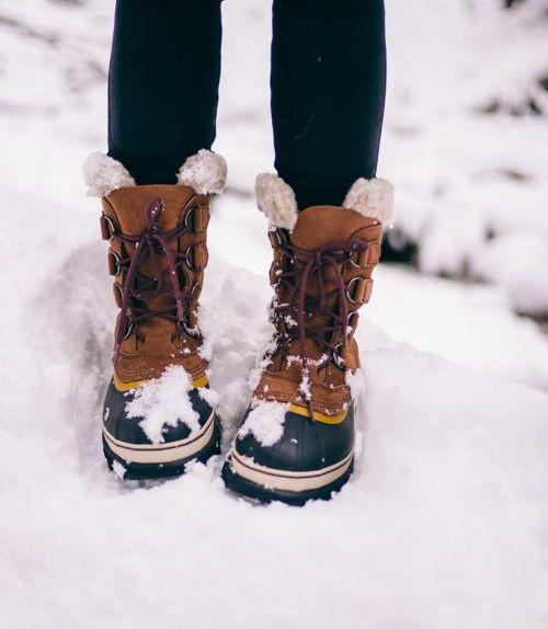Зимняя обувь с прорезиненным низом 2019