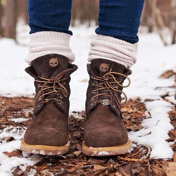 Тимберленды для зимы
