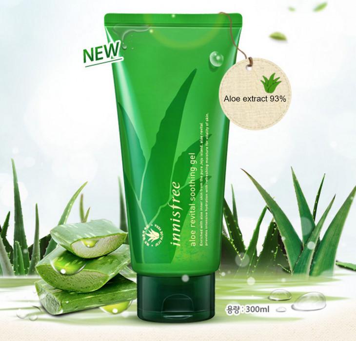 Увлажняющий гель с 93% алоэ Aloe Revital Soothing Gel Innisfree