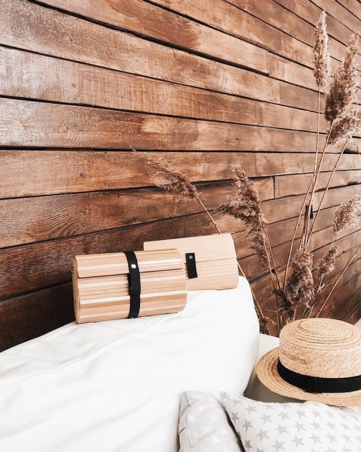 Деревянные сумки от Root