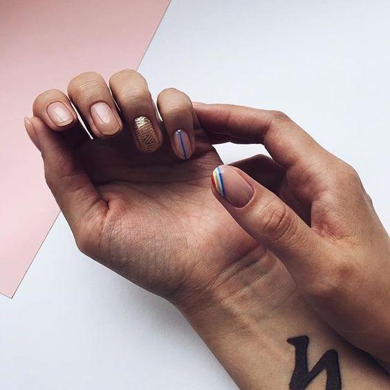Дизайн ногтей в натуральных оттенках