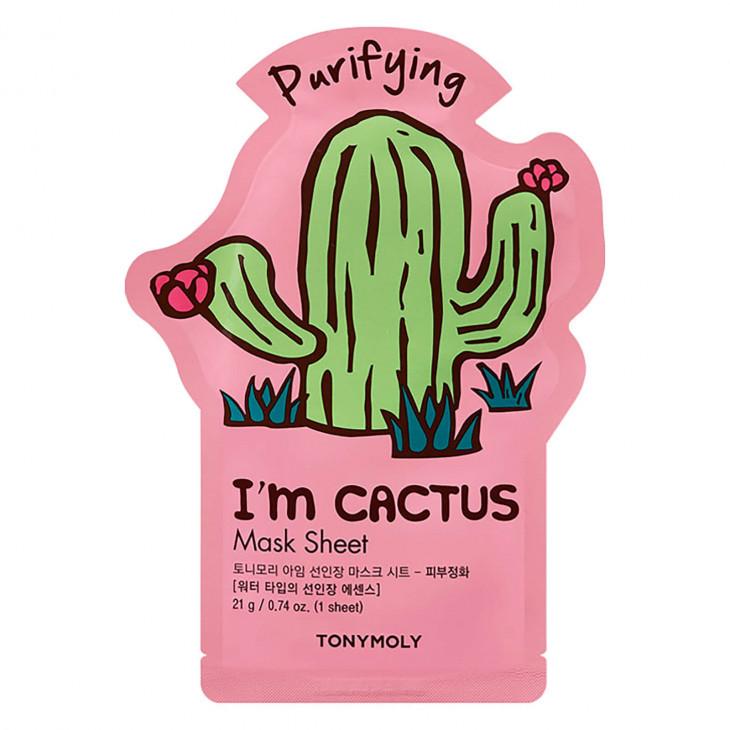 Тканевая маска TONYMOLY I'm Real Sheet Mask Cactus