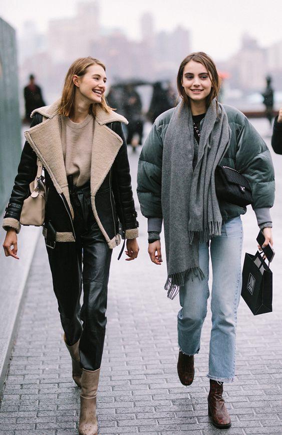 Модные образы девушек
