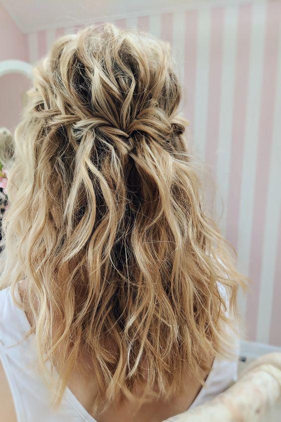 Красивое окрашивание блонд