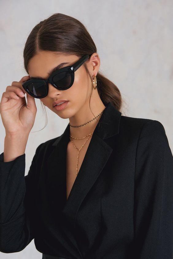 Солнцезащитные очки защитят кожу от преждевременного старения
