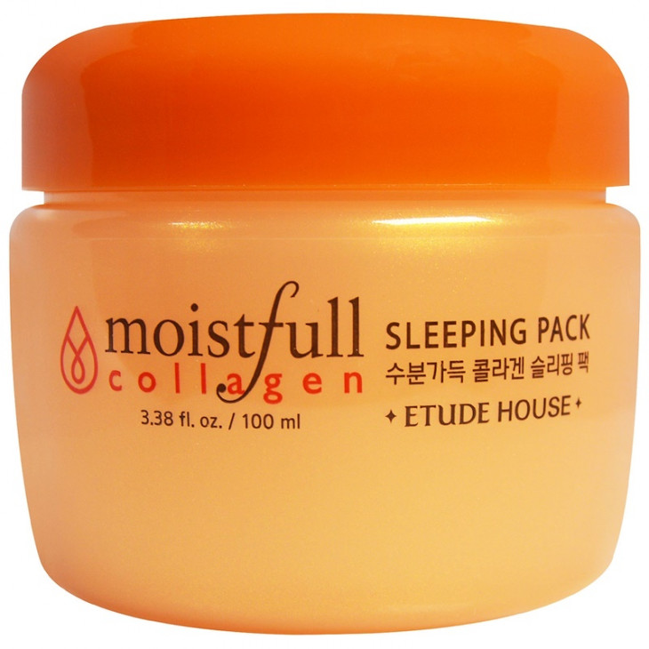 Etude House, Moistfull Collagen Sleeping Pack