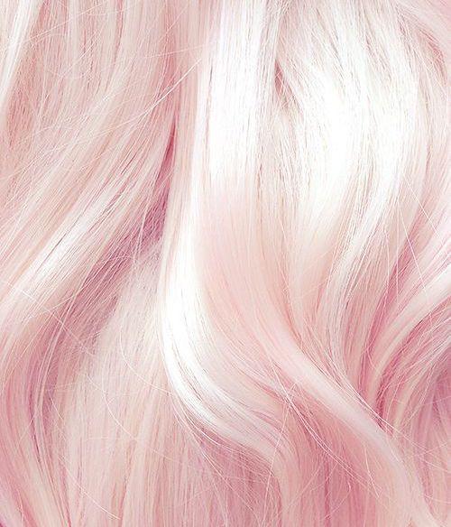Холодный блонд с розовым оттенком
