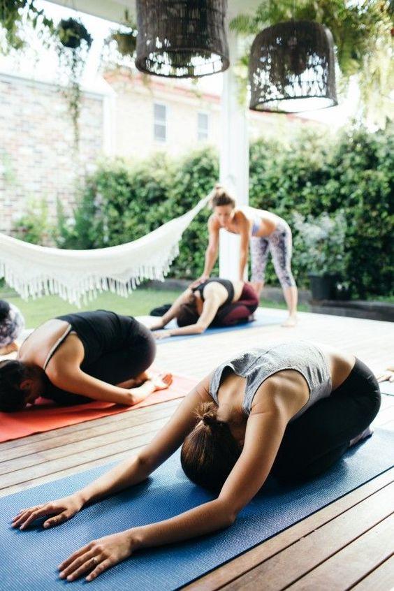 Класс йоги