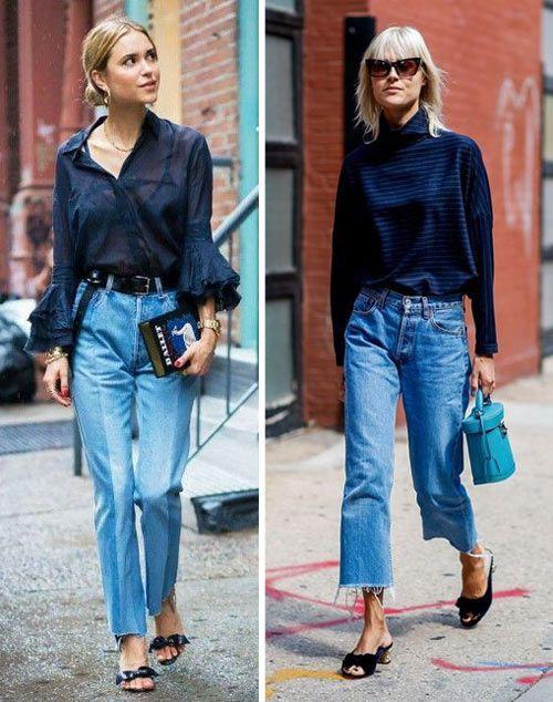 Клешеные джинсы 2019
