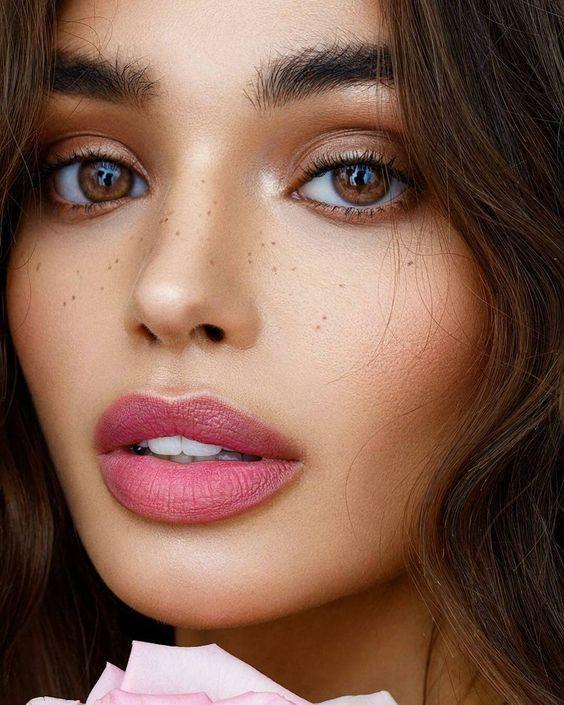 Пример натурального макияжа