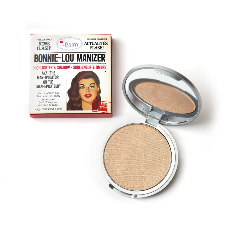Хайлатер Bonnie Lou Manizer Highlighter & Shimmer от the Balm