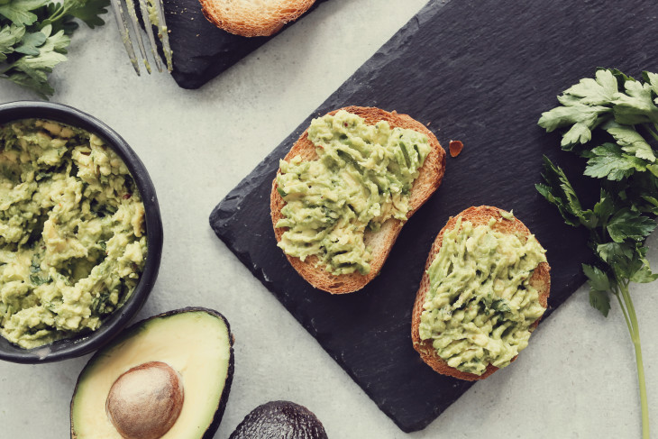 Классический тост с авокадо