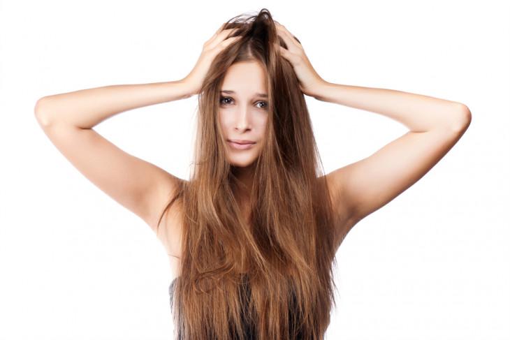 Длинные волосы без шапки