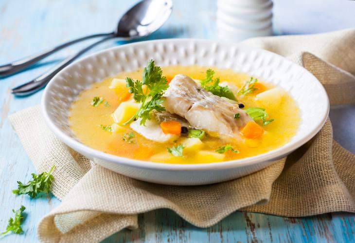 Рецепт ухи из двух видов рыбы