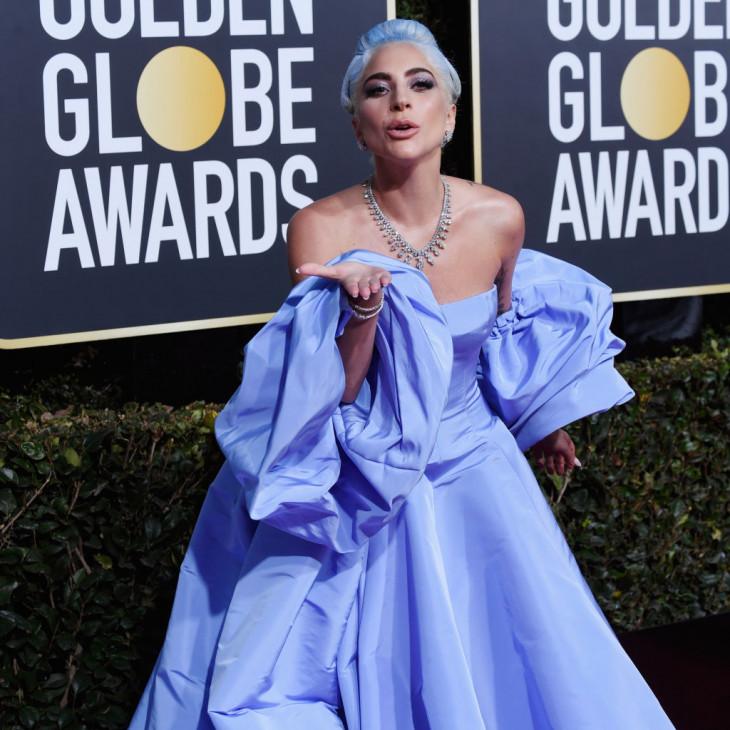 Леди Гага Золотой Глобус 2019
