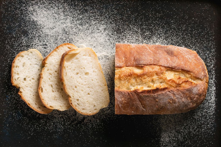 Белый хлеб с глютеном