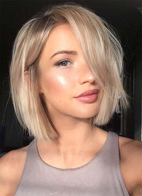Стрижка боб на короткие волосы 2019-2020