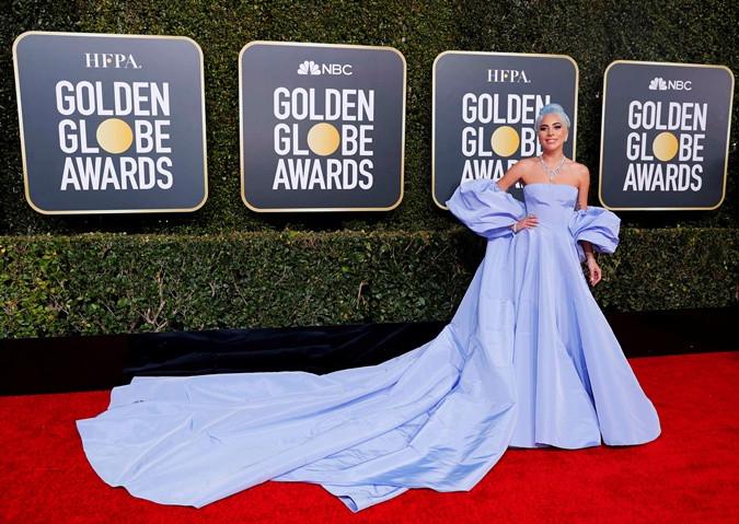 Леди Гага на премии Золотой глобус 2019