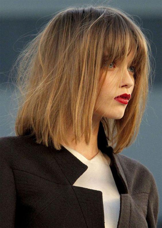 Самые модные стрижки на средние волосы 2019 (232 фото)