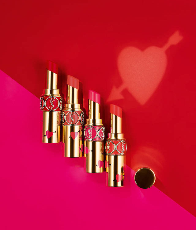 YSL Rouge Volupte Shine Collector Oil-in-Stick Lipstick Valentines Day 2019