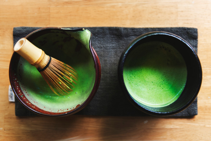 Японский чай матча