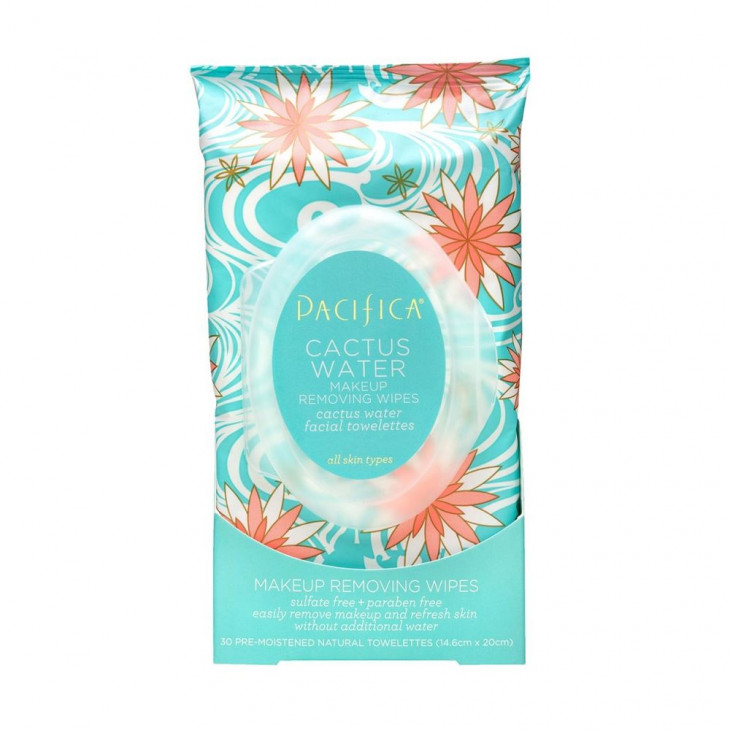 Влажные салфетки Pacifica Cactus Water Makeup Removing Wipes
