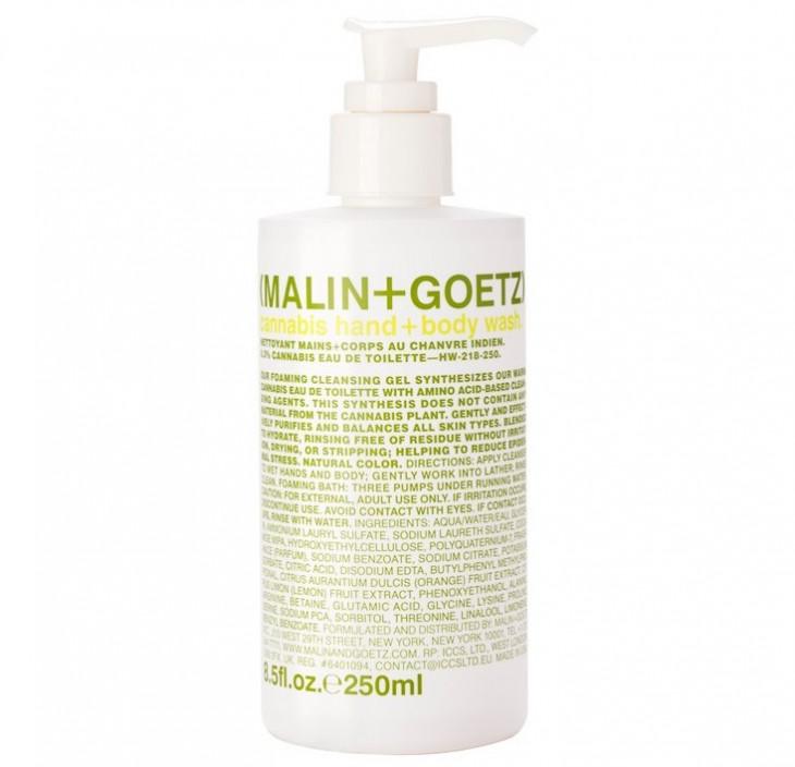 Гель-мыло для рук и тела с коноплей