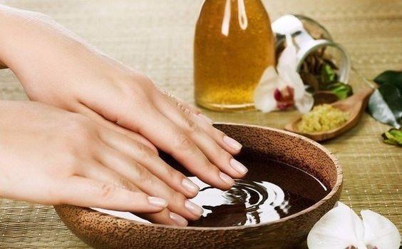 ванночка оливковое масло