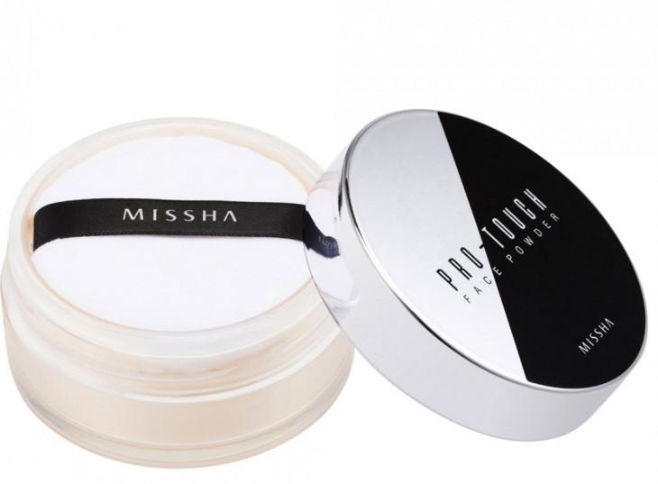 Прозрачная пудра Pro-Touch от Missha цена: ок. 500 грн