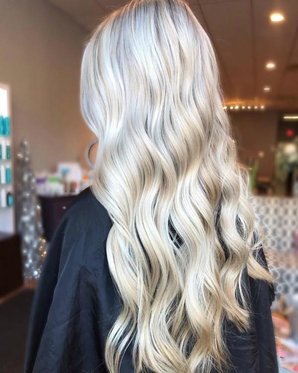 Снежный блонд фото