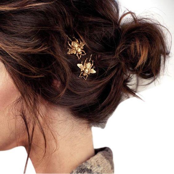 Украшения для волос в виде пчел