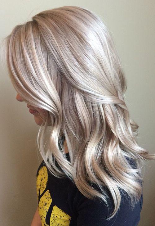 Платиновый блонд цвет