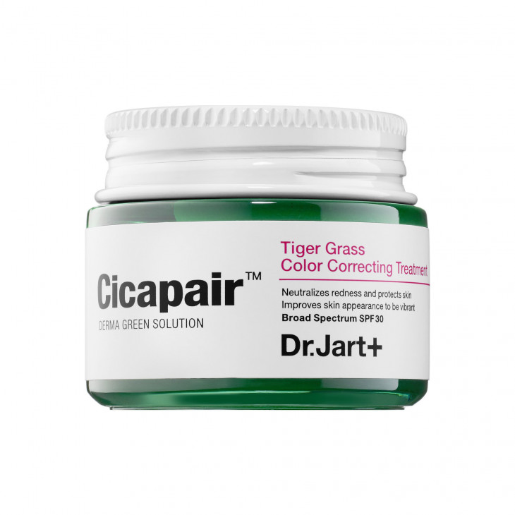 Регенерирующий СС-крем Cicapair Derma Green-Cure Solution Re-Cover SPF 30 / PA++ от Dr. Jart +