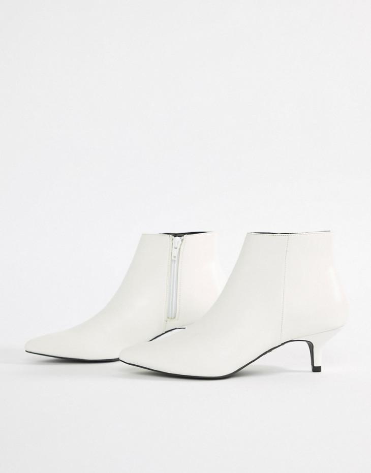 Ботинки на каблуке-рюмочке New Look