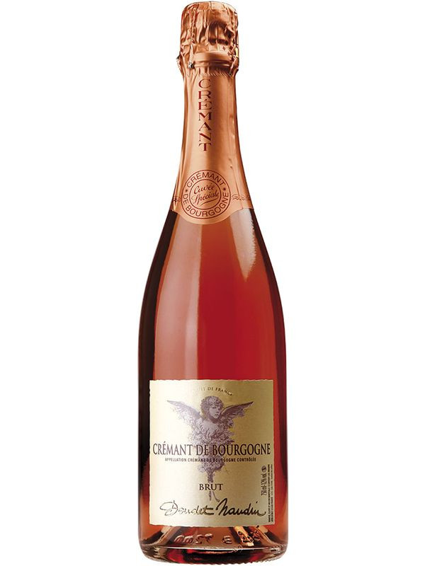 Розовое игристое на День святого Валентина