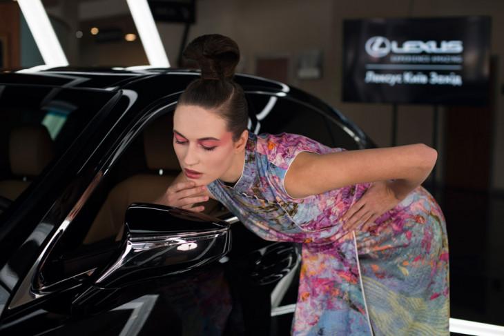 Couture de Fleur и Lexus коллаборация