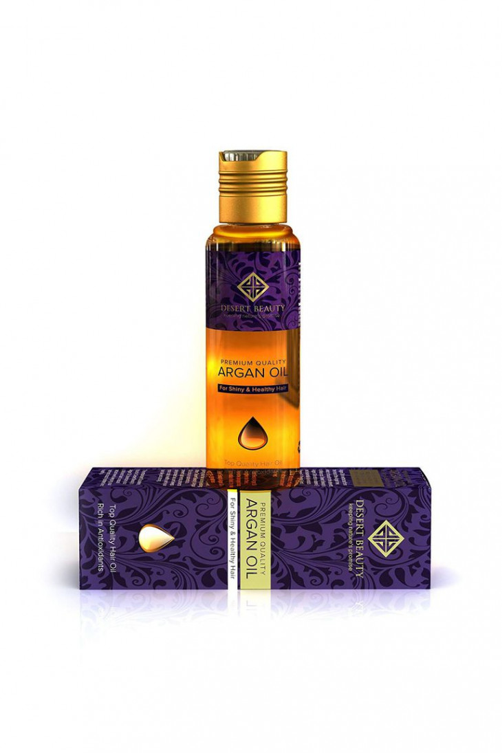 Desert Beauty Premium Argan Oil for Hair Treatment
