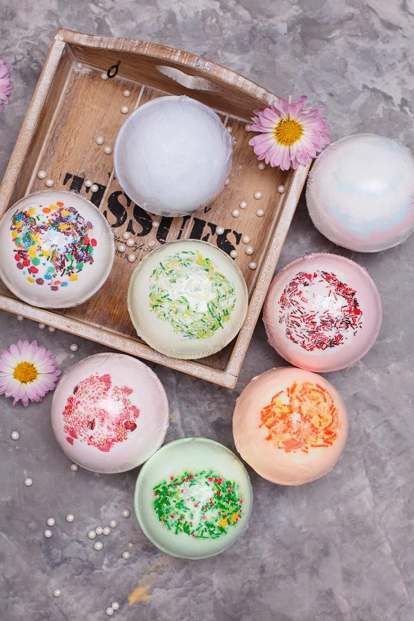 Органические бомбочки для ванны от Dushka