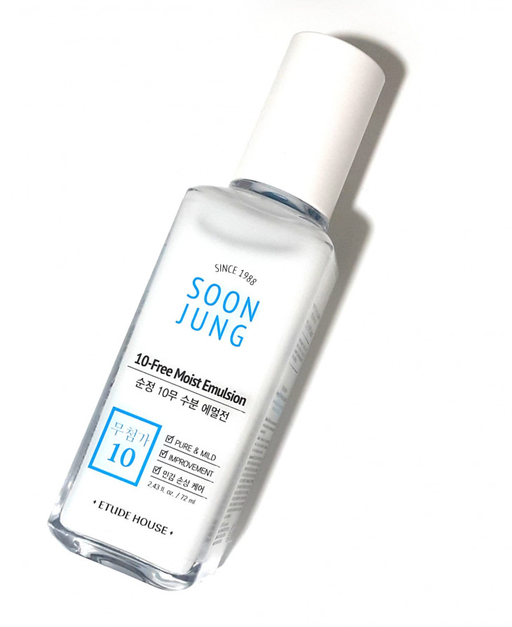 Эмульсия Soon Jung 10-Free Moist Emulsion от Etude House