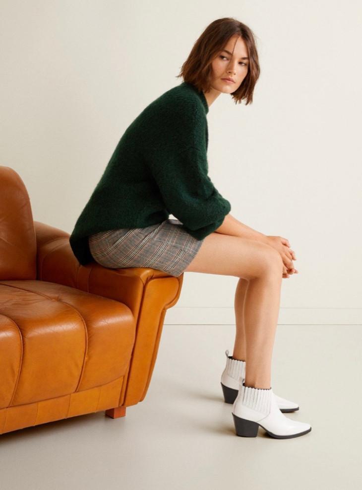 Ковбойские ботинки Zara