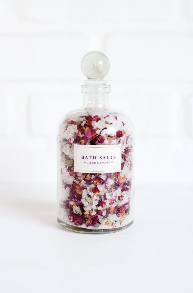 Mullein & Sparrow Rose Blossom Soaking Salts