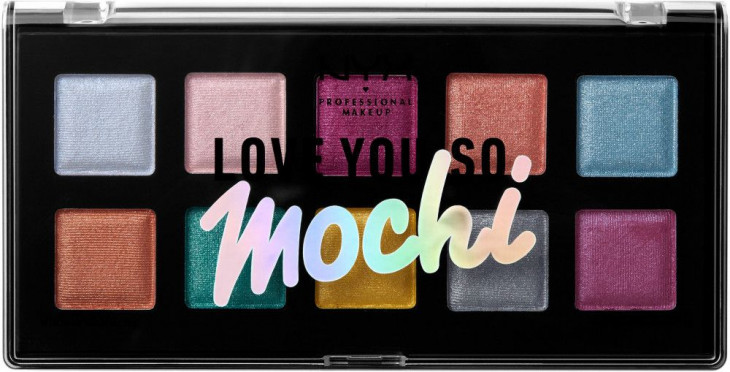 NYX Love You So Mochi Electric Pastels Eyeshadow Palette