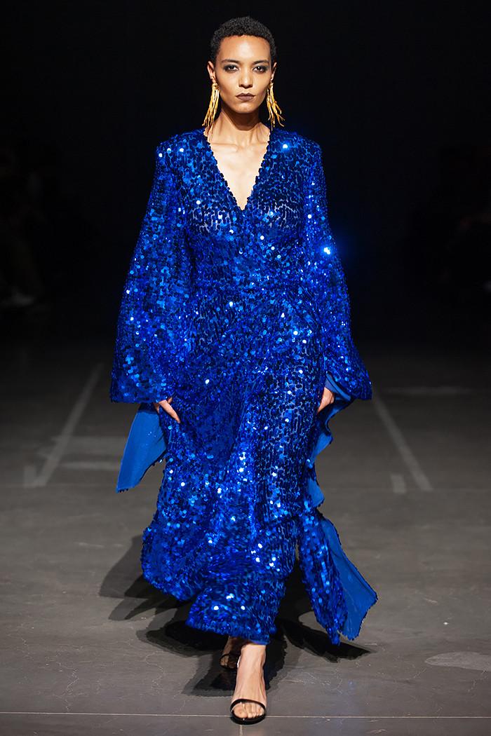 Платье с пайетками 2019