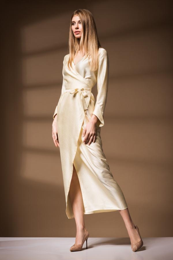 Платье на запах Ksenija Andress