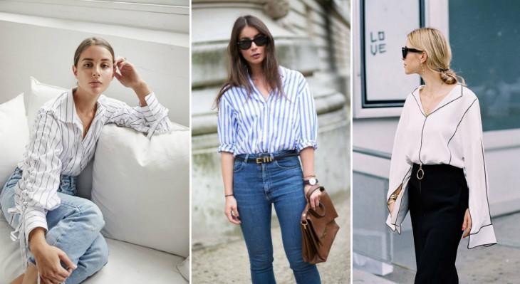 Рубашки и блузки 2019