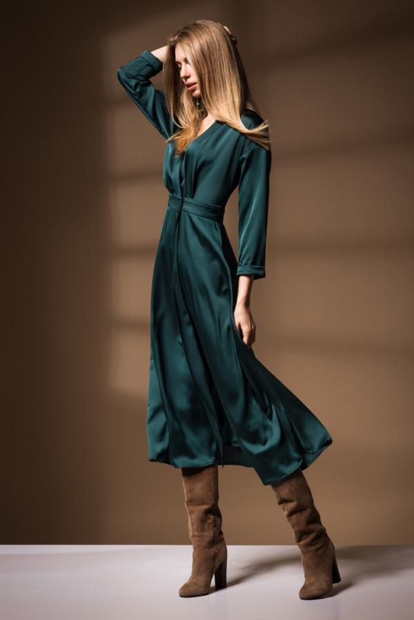 Шелковое платье Ksenija Andress