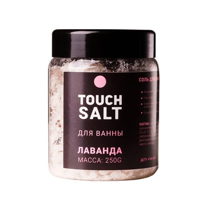 Соль для ванны с маслами «Лаванда» Touch